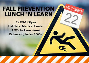 Fall Prevention Lunch 'N Learn
