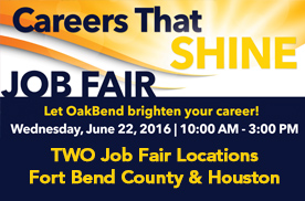 Job Fair – June 22, 2016