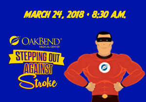 OakBend Announces Annual Stepping Out Against Stroke 3K Stroke Walk