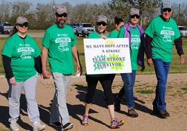 Stepping Out Against Stroke 3k 2016