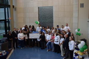 "OakBend Medical Center Holds Celebration for Success of the Hospital's ""Seeds of Generosity"" Employee Giving Campaign"