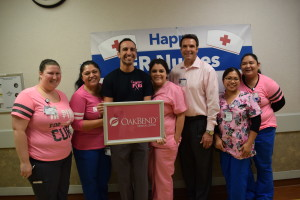 OakBend Medical Center Recognizes Breast Cancer Awareness Month with Pink Dress Days and Low-Cost Mammograms