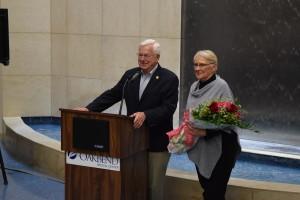 OakBend Medical Center Renames Jackson Street Atrium in honor of Joe and Doris Gurecky