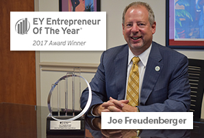 EY announces Joe Freudenberger of OakBend Medical Center named Entrepreneur Of The Year® 2017 Award winner in the Gulf Coast Area