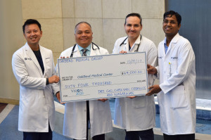 OakBend Medical Group donates to hospital's Vision 2020 Campaign