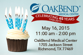 OakBend's 65th Birthday Bash