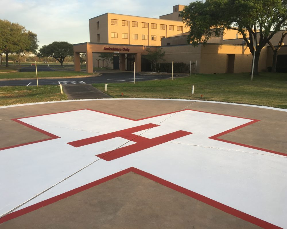 Helipad March 22
