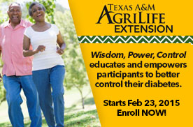 Wisdom, Power, Control – Diabetes Classes