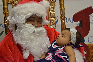 Santa Visits OakBend