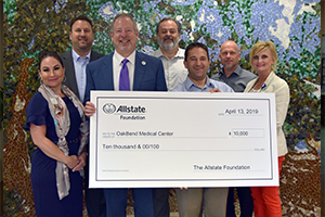 OakBend Receives the AllState Foundation Helping Hands Grant