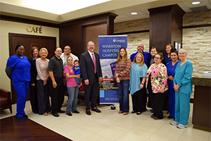 OakBend Medical Center Receives Wharton Chamber Business of the Year Award
