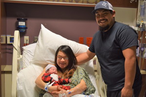 OakBend Medical Center welcomes first baby of 2021